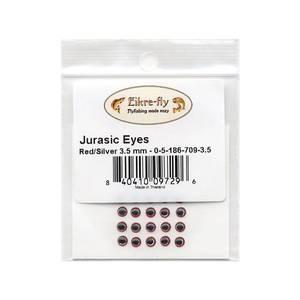 Bilde av Jurasic Eyes 3,5mm 709 Red/Silver