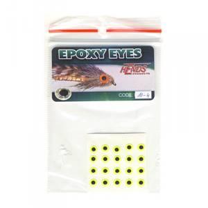 Bilde av Epoxy Eyes 4,0mm 10 fluo yellow