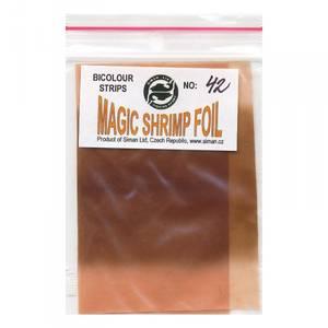 Bilde av Magic Shrimp Foil Bicolor 42 red brown / brown