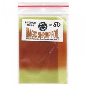 Bilde av Magic Shrimp Foil Bicolor 50 light green / brown orange